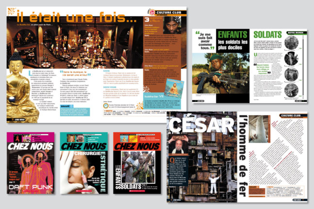 Chez Nous. Magazine series for Mary Glasgow Magazines/Scholastic